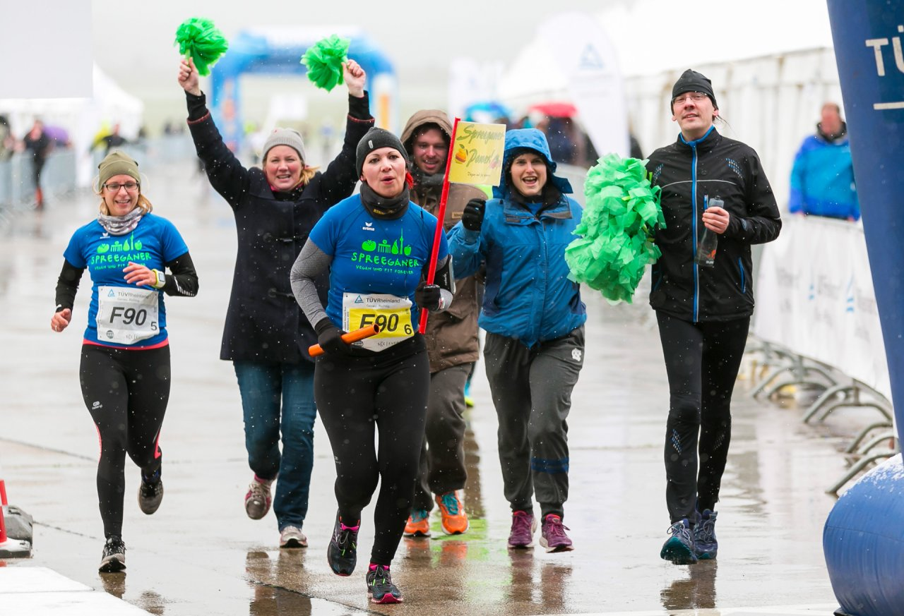 Die ehemalige Marathonstaffel zieht in den Frühling. Wind und Wetter haben der Stimmung aber in der Vergangenheit schon keinen Abbruch getan.