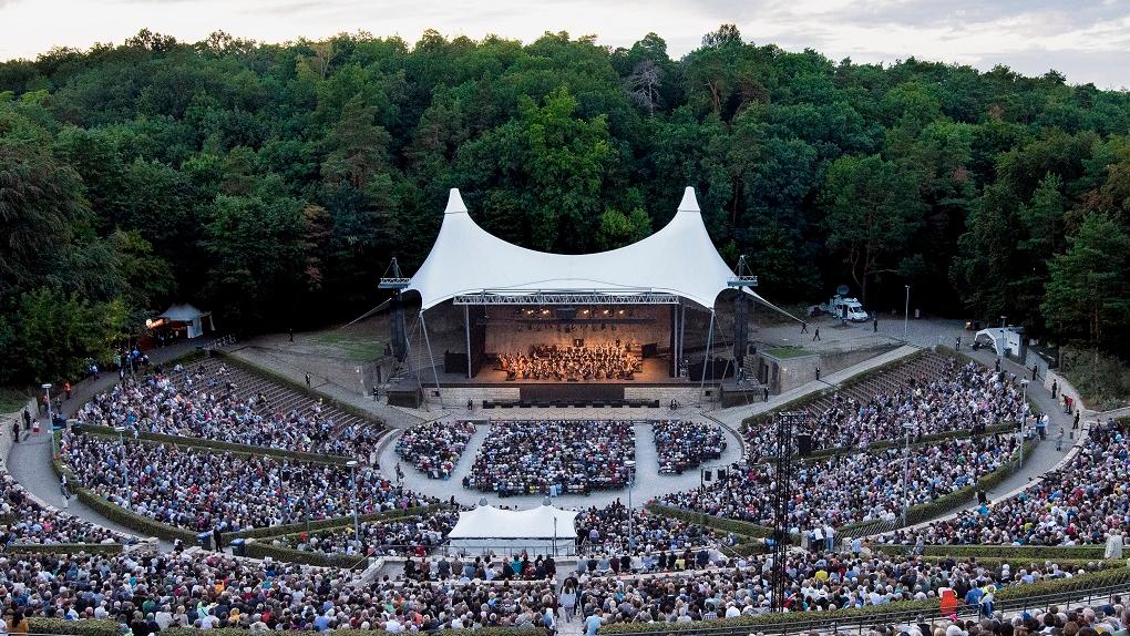 """Die Waldbühne Berlin - """"Konzertsaal"""" mit besonderer Atmosphäre"""