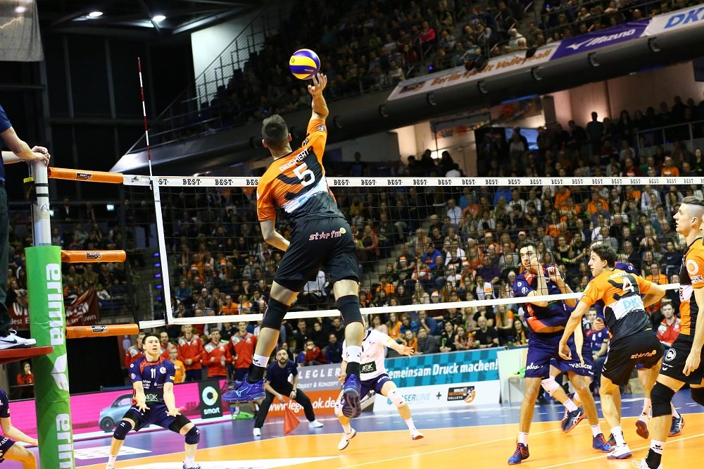 Über weite Strecken spielten die Volleys gegen Giesen schwach (Archivbild).