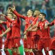 Jubel nach dem Wahnsinn: Die Bayern feiern den wundersamen Viertelfinaleinzug gegen Juventus Turin in der Champions League