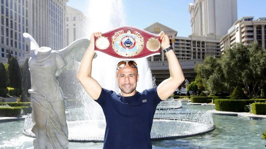 Boxer Arthur Abraham in Las Vegas