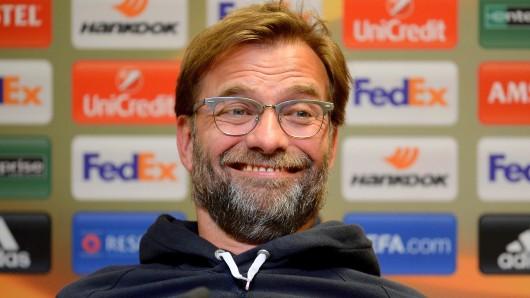Jürgen Klopp, Liverpools Trainer, macht seinen ehemaligen Klub Borussia Dortmund zum Favoriten