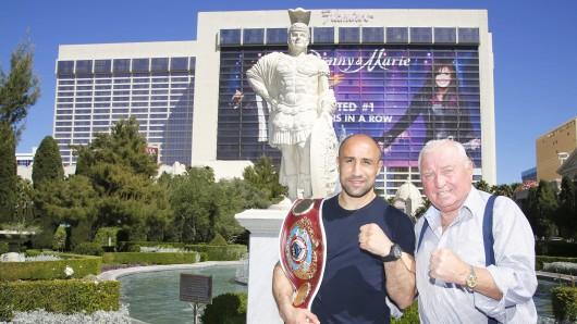 Zwei mit harter Faust und festem Willen: Boxer Arthur Abraham in Las Vegas mit Trainer Ulli Wegner