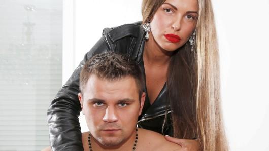 Dieses Foto von Denis Boytsov mit seiner Frau Olga wurde aufgenommen, als der Boxer noch gesund war