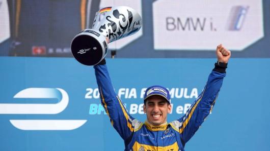 Der glückliche Sieger aus der Schweiz: Sébastien Buemi