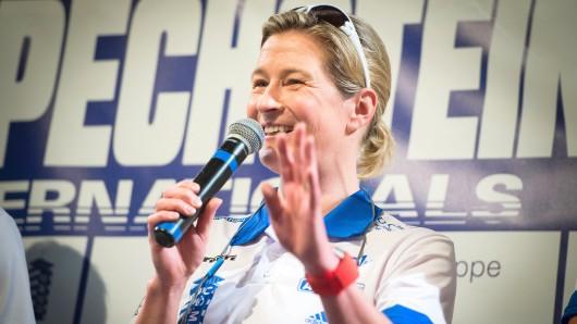 Claudia Pechstein im Mai 2016