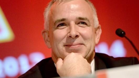 Der Präsident des 1. FC Union, Dirk Zingler