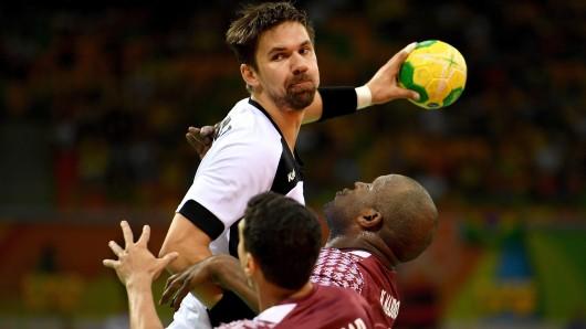 Fabian Wiede gewann mit der deutschen Mannschaft in Rio de Janeiro die Bronzemedaille