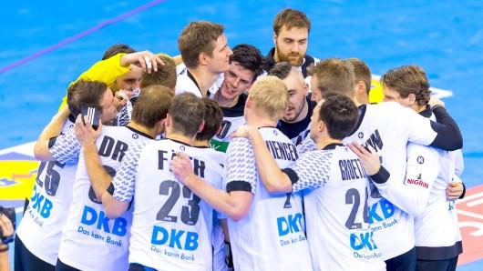 Die deutsche Handball-Nationalmannschaft ist ein verschworener Haufen