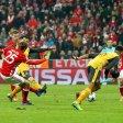 Thomas Müller schießt das fünfte Tor für die Bayern