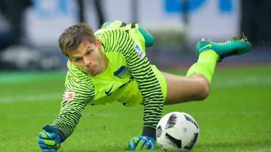Rune Jarstein blieb in dieser Saison bisher sieben Mal mit Hertha BSC in der Liga ohne Gegentor. Seit Wochen ist der Norweger der beste Berliner