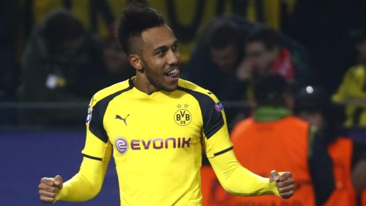 Der Spieler des Abends: Borussia Dortmunds Pierre-Emerick Aubameyang