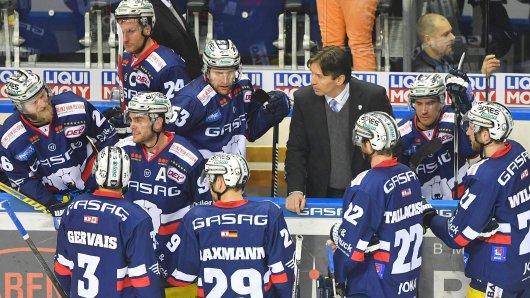 Trainer Uwe Krupp will ins Halbfinale