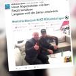 Marvin Plattenhardt mit Afd-Abgeordnetem Frank Scheermesser (l.)