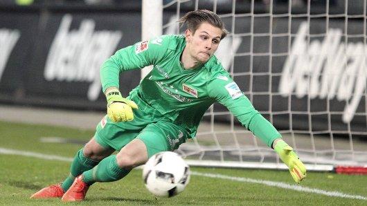 Union-Torwart Daniel Mesenhöler macht mit guten Leistungen auf sich aufmerksam