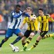 Gegen Borussia Dortmund gelang Herthas Salomon Kalou (l.) zuletzt sein fünftes Saisontor