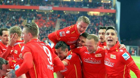 So will Union auch am Saisonende feiern, nach dem Aufstieg in die Bundesliga