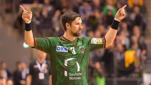 Fabian Wiede feierte ein gelungenes Comeback im Trikot der Füchse Berlin