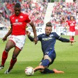 Endspiel um Europa: Mainz mit Cordoba (l.) schafft im Mai 2016 ein 0:0 gegen Hertha mit Plattenhardt