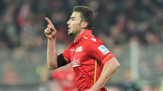 Mittelfeldspieler Dennis Daube verlängerte seinen Vertrag bis 2018 und gibt die Richtung vor: nach oben