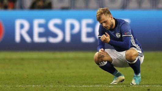 Ein Sieg und doch kein Sieg: Nach dem 3:2 müssen Joahnnes Geis und seine Schalker Ajax Amsterdam ins Halbfinale der Europa League lassen