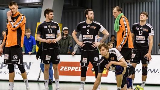Enttäuschung bei den Volleys nach der Niederlage gegen Friedrichshafen