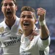 Er trifft und trifft: Cristiano Ronaldo (r.) bezwang Atletico praktisch im Alleingang. Sergio Ramos gratuliert