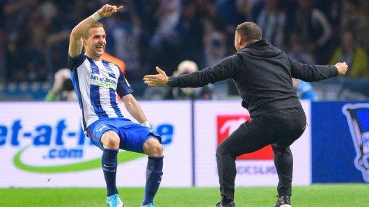 Ein eingespieltes Team: Hertha-Trainer Pal Dardai und Rechtsverteidiger Peter Pekarik
