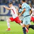 Leipzigs Marcel Sabitzer sprintet Portos Verteidigern davon