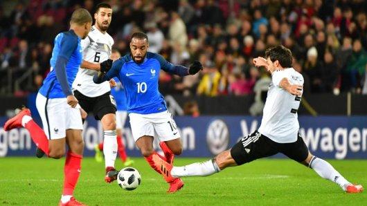 Nur knapp gelang dem deutschen Team ein Remis gegen Frankreich