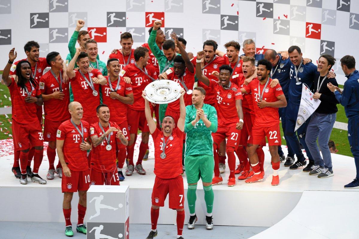 FC Bayern München zum 29. Mal Deutscher Meister