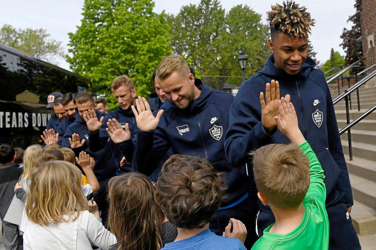 Wie Hertha in den USA neue Fans gewinnt