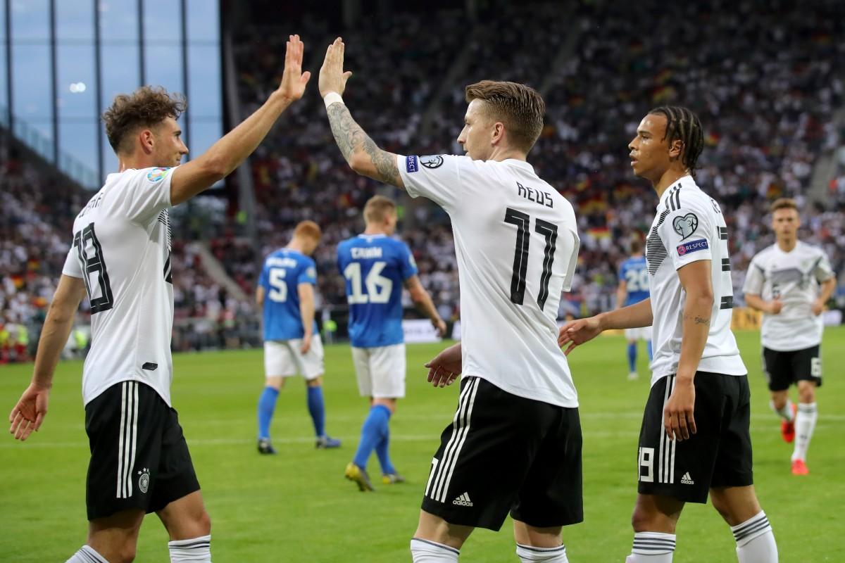 Em Quali Estland Gegen Deutschland Das Spiel Live Im Tv
