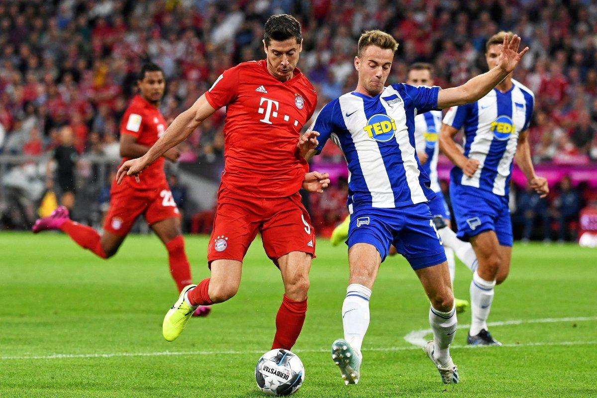 Hertha BSC: Klünter bester Mann auf dem Platz