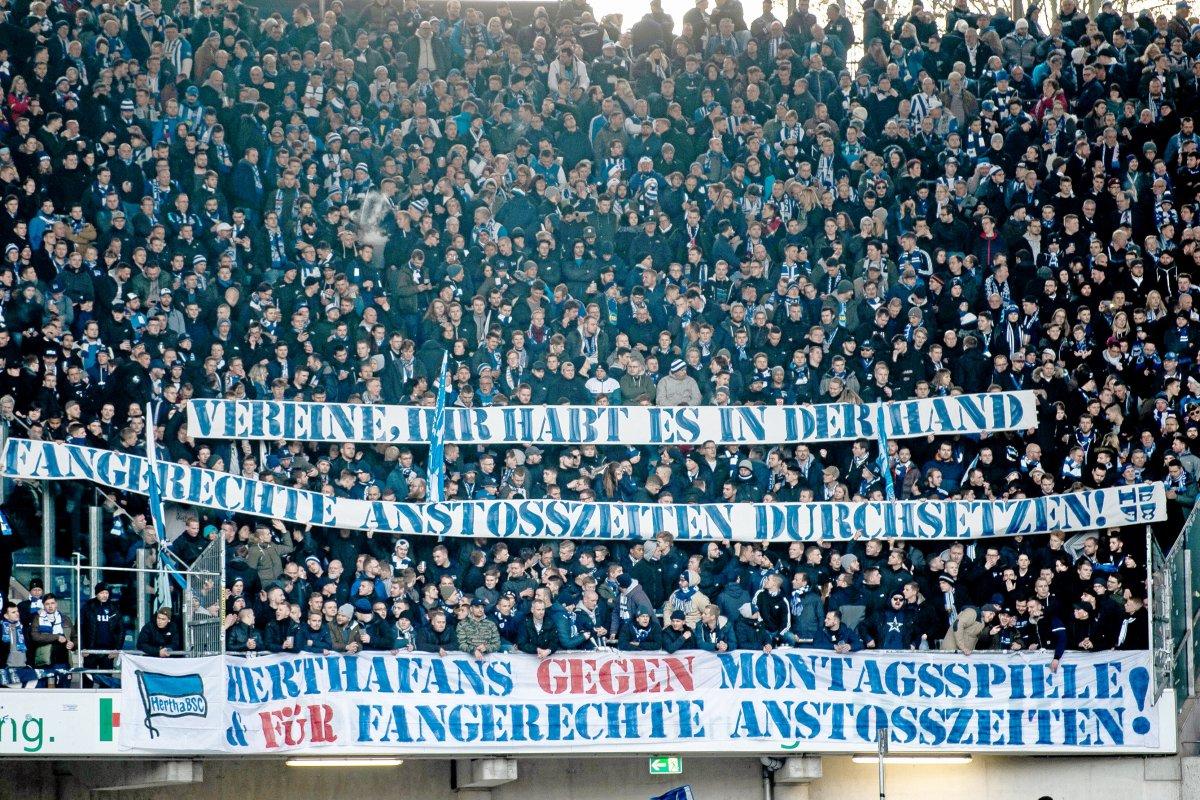 Hertha BSC und 1. FC Union Berlin: Die Fans verbünden sich bei DFL-Versammlung