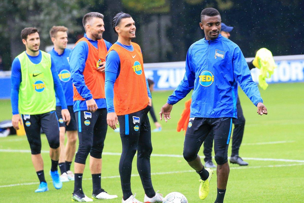 Salomon Kalou ist bei Hertha nur noch dabei statt mittendrin