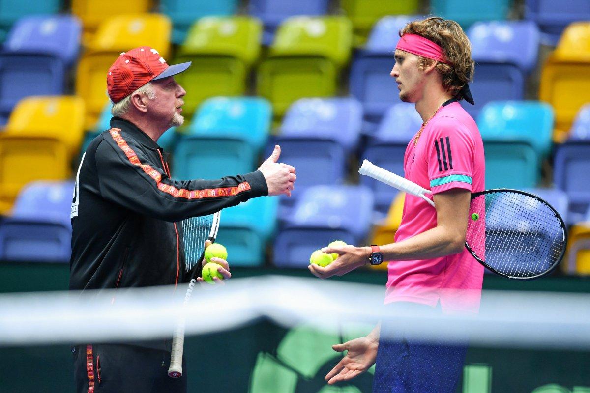 Alexander Zverev: Warum nicht mit Boris Becker?