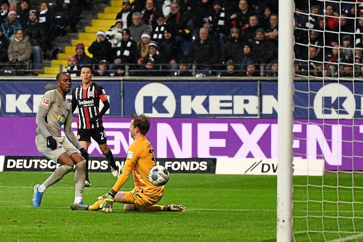 Hertha BSC stoppt seine Niederlagenserie – 2:2 in Frankfurt
