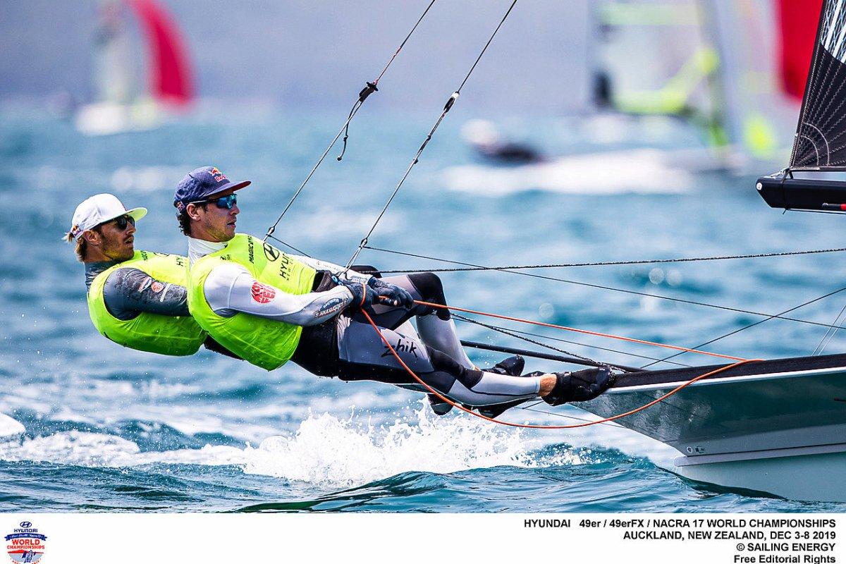 Silberstreifen am olympischen Segelhorizont