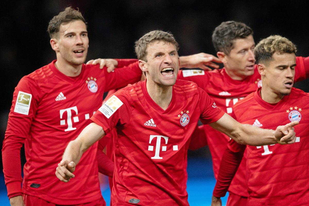 Bayern München genießt die Bullenjagd