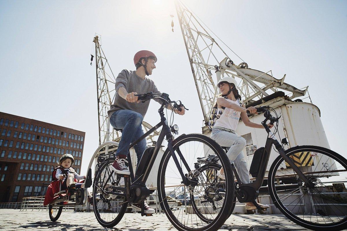 Hamburg: Durch die Stadt mit dem Rad