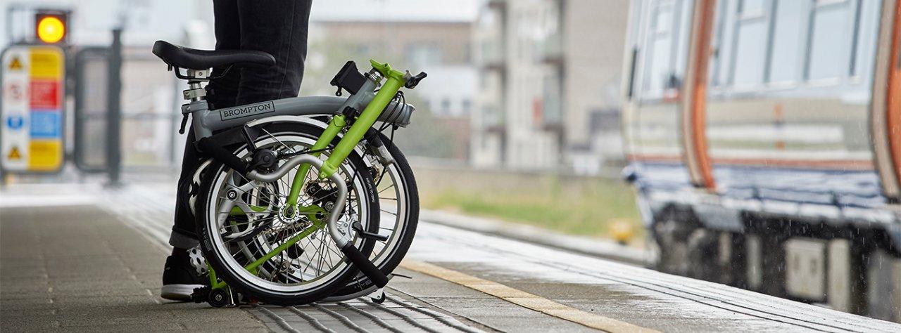Klein und handlich: das Faltrad