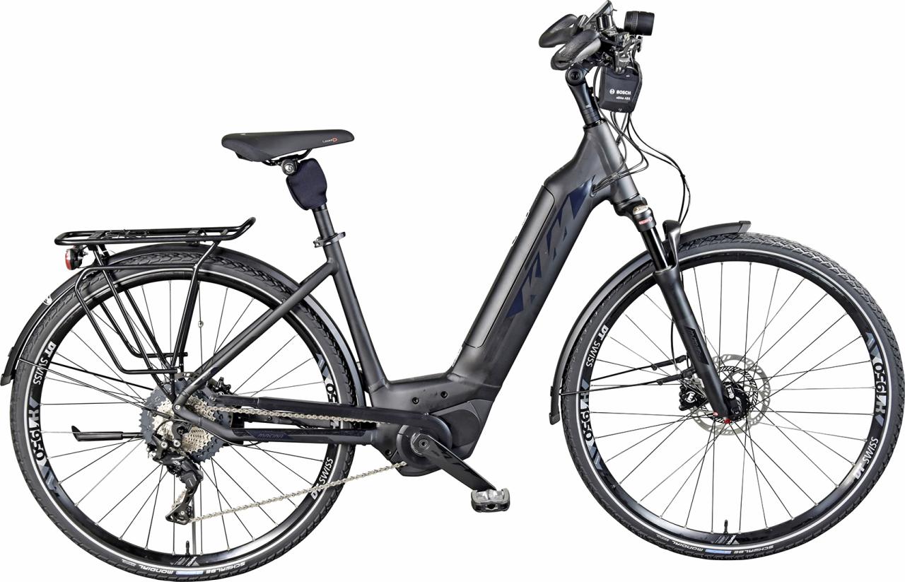 E-Bike KTM Macina City ABS mit leistungsstarker Performance Line von Bosch.