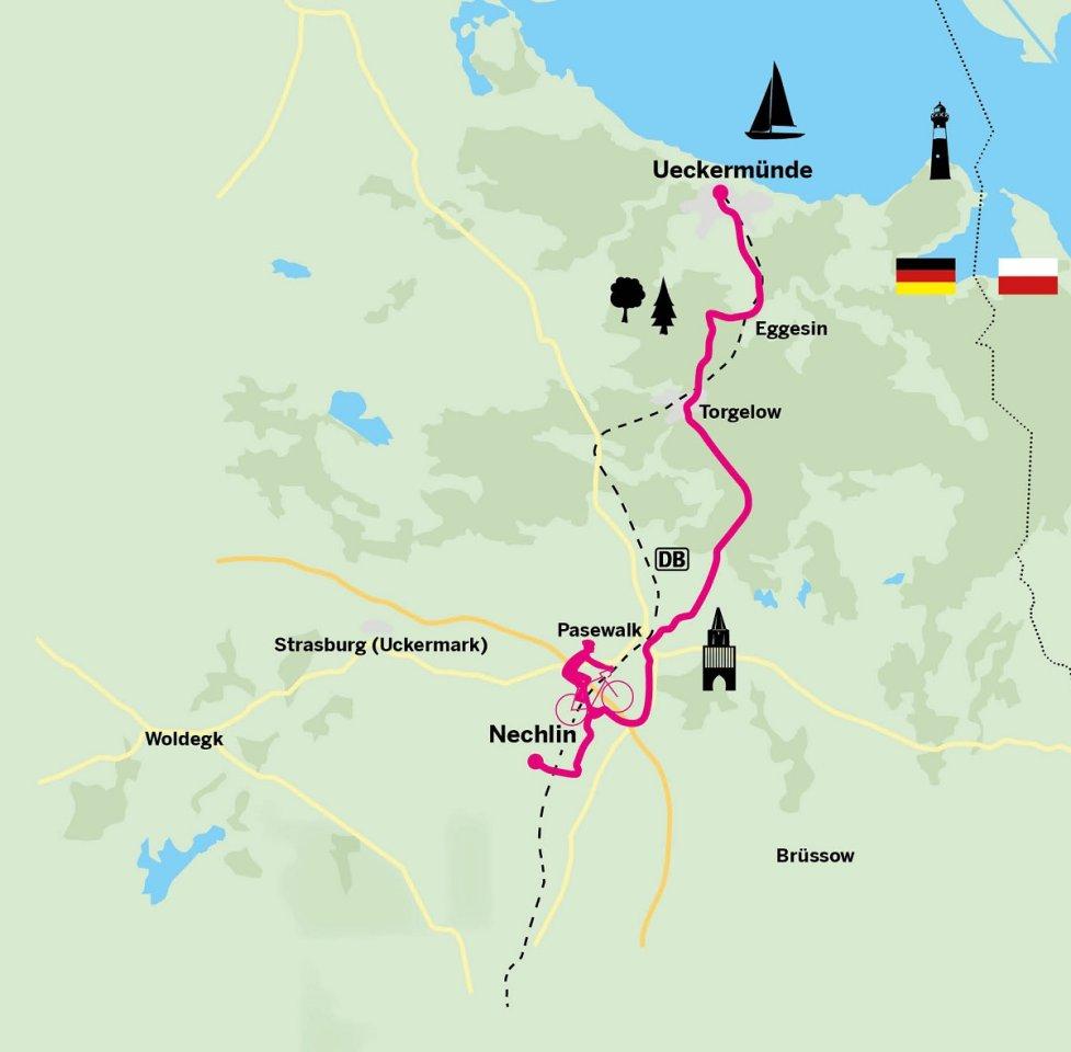 Endlich ans Meer: die dritte Etappe des Berlin-Usedom-Radwegs.
