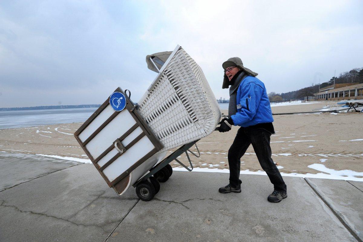 Strandbad Wannsee soll ganzes Jahr geöffnet haben