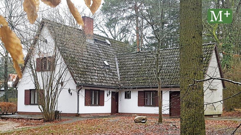 Altes Forsthaus wird zum Waldgesundheitszentrum umgebaut
