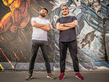 """Bartender im Lockdown: Andreas Andricopoulos (r.) aus dem """"Golvet"""" und Tarek Nixon aus dem """"Provocateur"""" sind die Milkpunch Boys."""