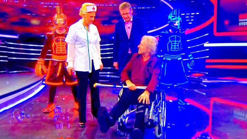 Thomas Gottschalk Rollstuhl