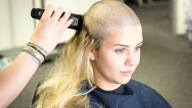 Haare abschneiden trauer