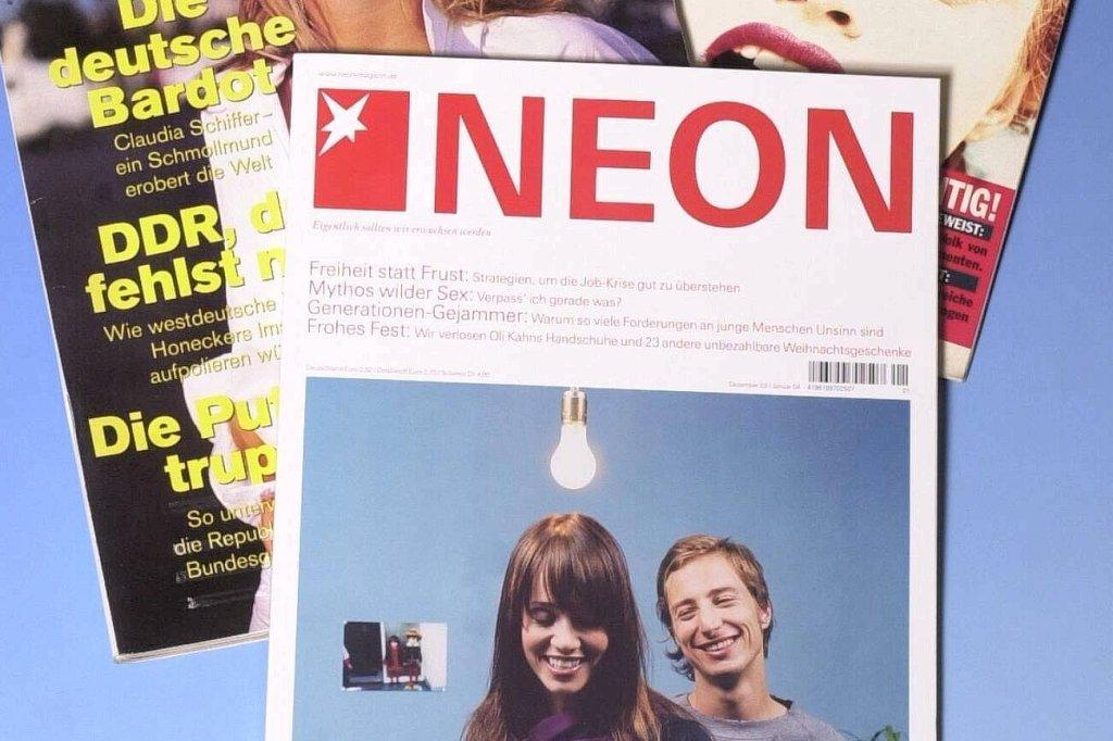 """Gruner + Jahr stellt Trendmagazin """"Neon"""" zum Sommer ein - TV ..."""